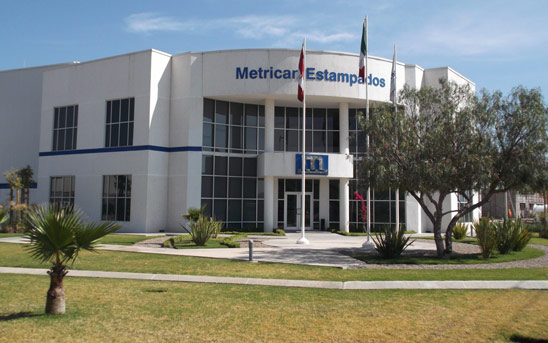 Metrican Stamping Building in Mexico