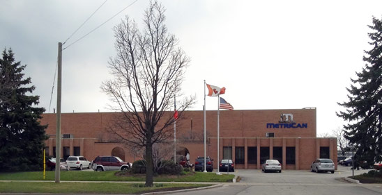 Metrican Manufacturing Building in Oakville, Ontario